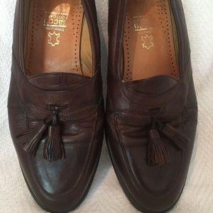 Johnston Murphy Handcrafted Tassel Loafer Shoe 10W